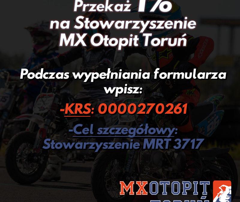1% podatku na Stowarzyszenie MX Otopit Toruń!