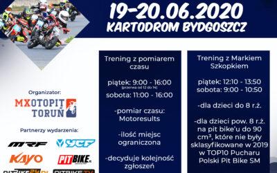 Dwa dni jazdy na Kartodromie Bydgoszcz