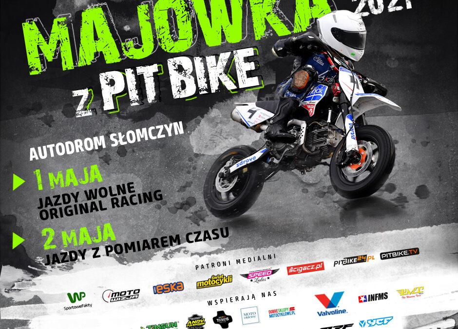 Odjazdowa Majówka Pit Bike na torze w Słomczynie!