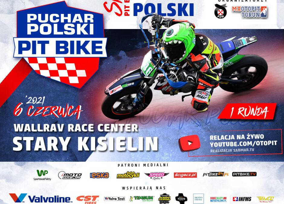 Puchar Polski Pit Bike, Stary Kisielin. Informacje dla zawodników