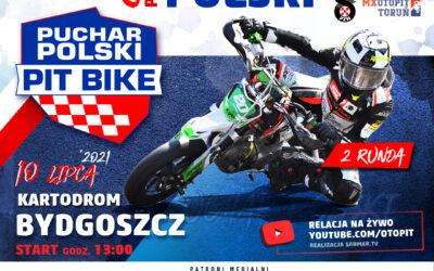 Zawodnicy Pucharu Polski Pit Bike SM odliczają do startu w Bydgoszczy